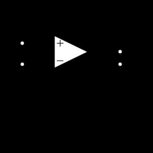 非反転増幅回路(旧JIS表記)